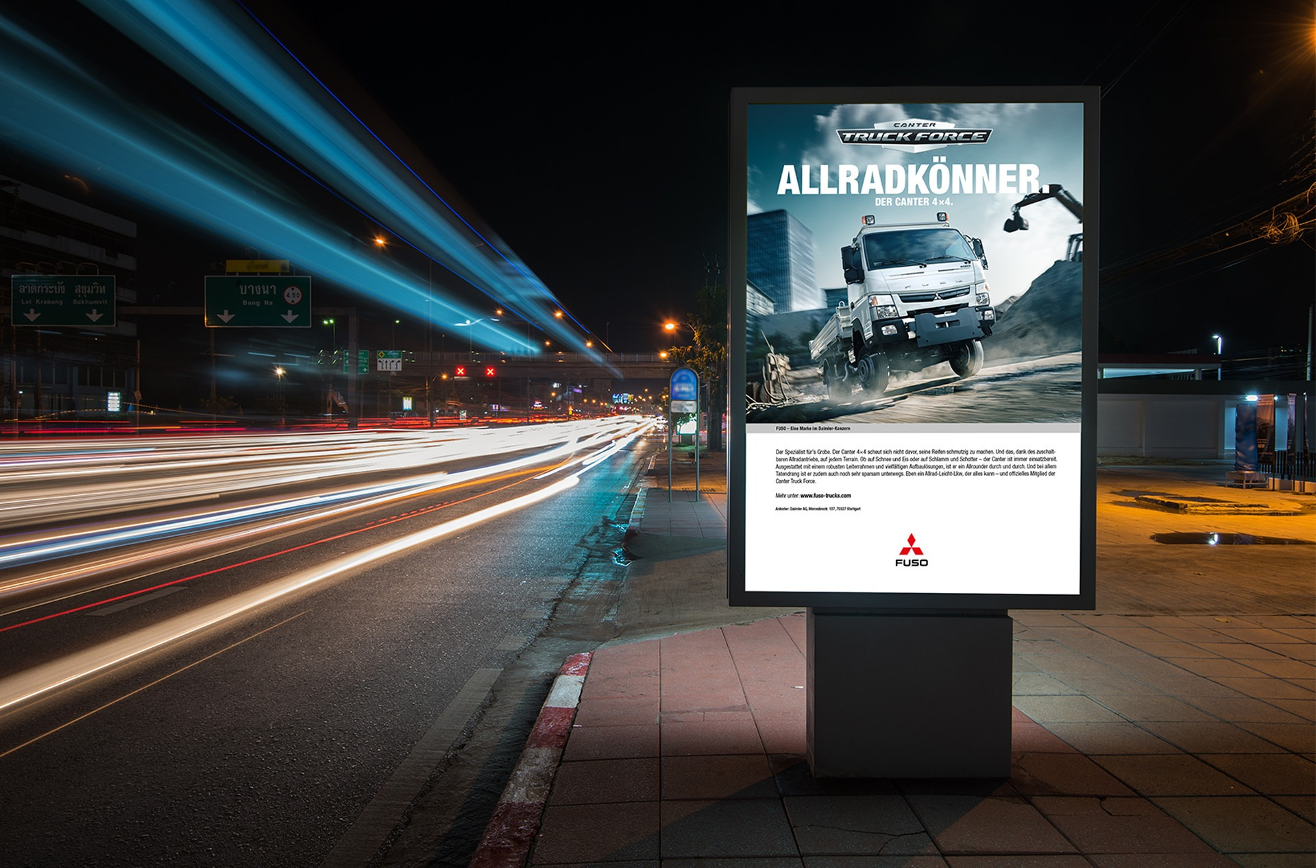 Mark Schulze — Art Direction & Graphic Design FUSO Canter Campaign »Truck Force«