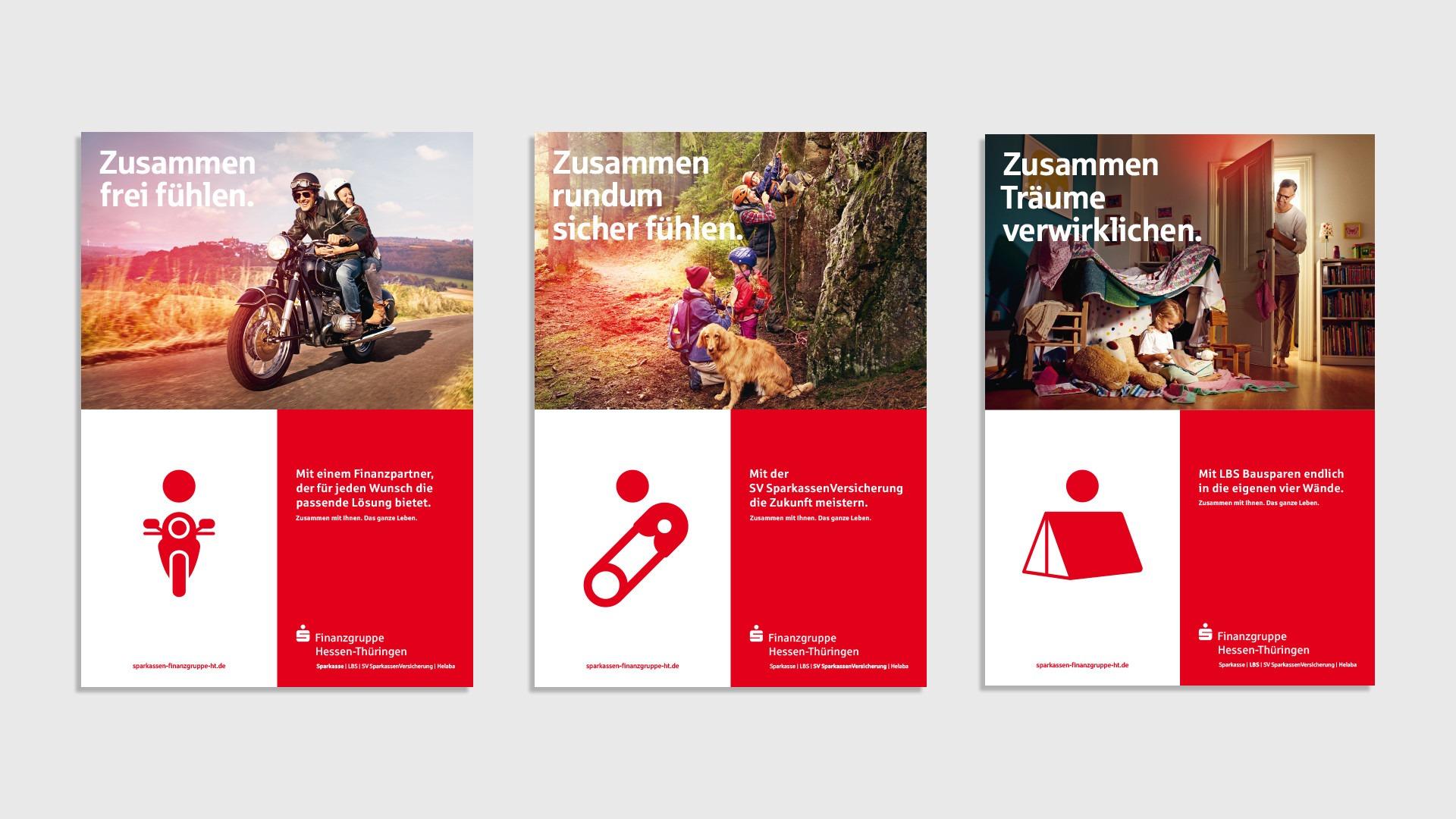 Mark Schulze — Art Direction & Graphic Design Sparkassen-Finanzgruppe Hessen-Thüringen Campaign